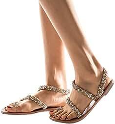 Sandalias Cruz De Zapatos Verano Mujer Frauit WDHI92E