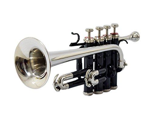 Nasir Ali PiTr-02, Piccolo Trompete, B, Schwarz + Nickel