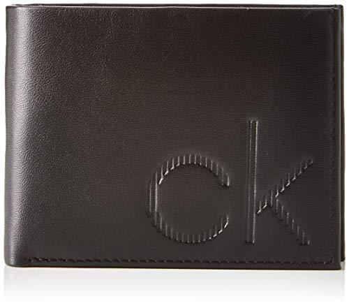 Calvin Klein Herren Ck Up 5cc Coin Schultertasche, Schwarz (BLACK), 1.9x12.4x9.5cm