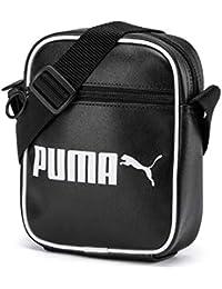 PUMA Campus Portable Retro, Borsa a Tracolla Unisex Adulto, Black, OSFA