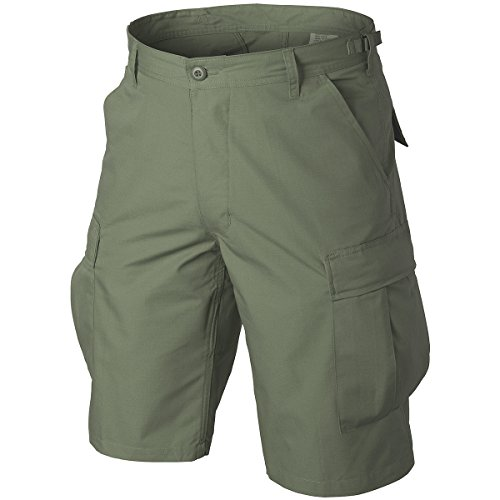 Helikon Original BDU Shorts Baumwolle Ripstop Oliv Größe L -