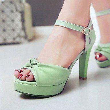 CH&TOU Da donnaFormale Serata e festa-Plateau-A stiletto Plateau-Finta pelle-Nero Blu Verde Rosa Bianco green