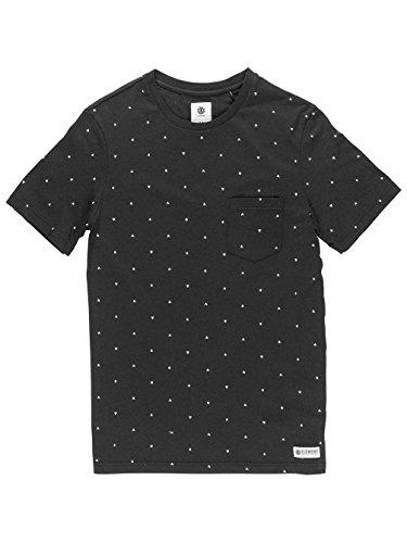 Element Warren T-Shirt Flint Black