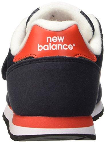 New Balance Nbkv373vrg, Scarpe da Ginnastica Unisex – Bambini Blu (Navy Red)