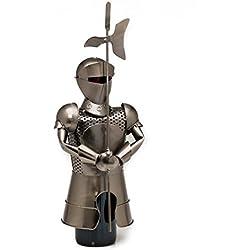 Contenedor de vino armadura jaula de la botella de vino en rack Ritter gótica