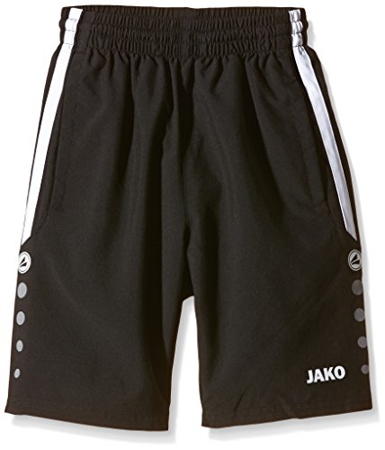 Jako Kinder Shorts Performance schwarz/Weiß, 164