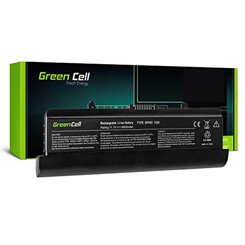 Green Cell Extended Serie GW240 Laptop Akku für Dell Inspiron 1525 1526 1545 1546 (9 Zellen 6600mAh 11.1V Schwarz) - Inspiron 1526 Serien Laptop