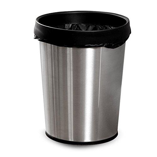 Ali 12L Edelstahl runder Drucksack Müll