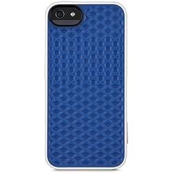 Belkin F8W306vfC01 Coque TPU VANS pour iPhone 5/5s blanche/bleue
