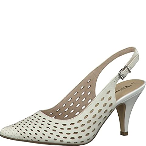 Tamaris Schuhe 1-1-29606-28 bequeme Damen Sandalette, Sandalen, Sommerschuhe für modebewusste