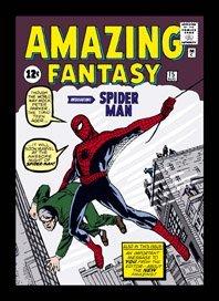 Spiderman Marvel diseño imán nevera 651