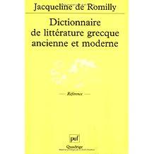 fr dictionnaire grec moderne