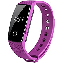 COOSA ID107 Activity Tracker , Fitness Tracker, Braccialetto Monitoraggio Battito