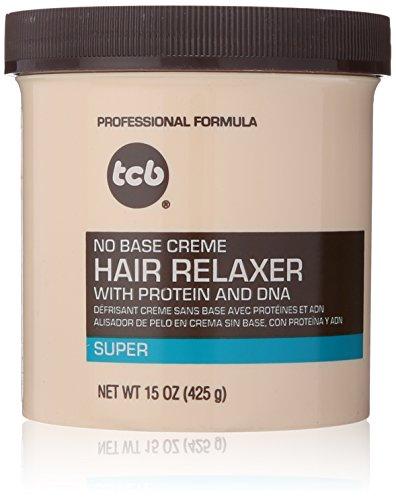 Professional Creme Relaxer (TCB Haarglättungsmittel Hair Relaxer Keine Base Creme 425g)