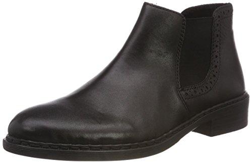 Rieker Damen 77584 Chelsea Boots, Schwarz (Schwarz 02), 38 EU