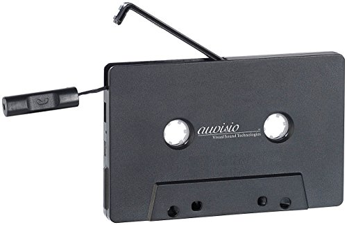 Bluetooth-adapter Kassette (auvisio Adapter Cassette: Kassetten-Musik-Adapter mit Bluetooth 2.1 & Freisprech-Funktion (Bluetooth Cassette))