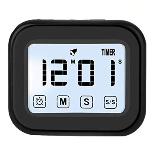 TOOGOO Temporizador De Cocina Reloj Despertador Digital