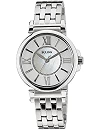 (CERTIFIED REFURBISHED) Bulova Classic Analog Mother of Pearl Dial Women's Watch - 96L156