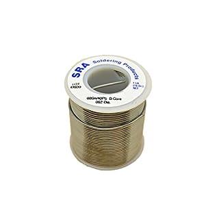 SRA Soldering Products WBC60/4062 Acid Flux Core Solder, 60/40 .062 Inch, 1-Pound Spool by SRA Soldering Products
