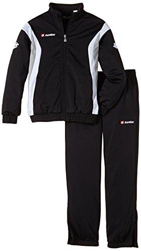 Lotto Sport Jungen Trainingsanzug Suit Stars Cuff JR Blk/Wht/Putty G, L -