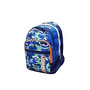 41050BHEDJL. SS300  - Seven - Mochila Escolar Americana, Color Azul, 42 x 31 x 17 cm