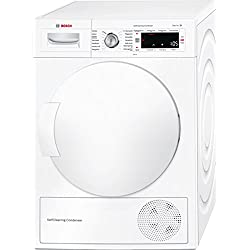 Bosch WTW845W0 Serie 8 Wärmepumpentrockner / A+++ / 8kg / Selbstreinigender Kondensator / weiß