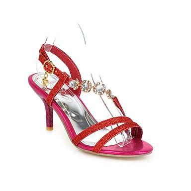 Zormey Les Talons Des Femmes Printemps Automne Chaussures Club D&#039;Orsay &Amp; Ensemble De Bureau Extérieur En Cuir Nappa &Amp; Carrière Casual Talon Noir Nu Hollow-Out US11 / EU43 / UK9 / CN44