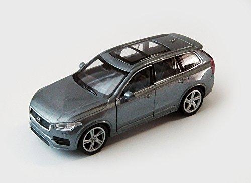 VOLVO XC90 2015 Modellauto 12cm Modell Auto Spielzeugauto 4 Farben Metall 41 (Grau)