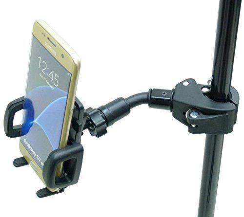 BuyBits Aggancio Rapido Compact Music Mic Supporto Montaggio Telefono per Samsung Galaxy S7 Edge