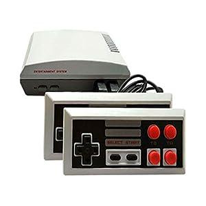 FYYTRL Mini Classic Game Console Mini Retro Spielkonsole Built-In 600 Spielvideospiel Handspiel-Konsole (8-Bit-HDMI-Kabel Outlet-Kabel) Bringt You Happy Childhood Memories,Grayishwhite