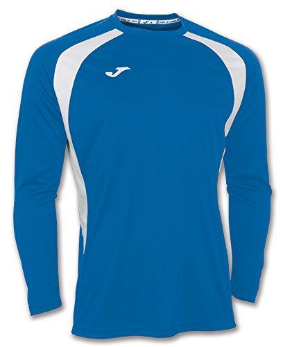 Joma 100015.702 - Camiseta de equipación de Manga Larga para Hombre, Color Azul Royal/Blanco, Talla...