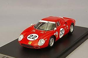 LOOK&SMART Coche Miniatura Collection, LSRC059, Rojo/Blanco