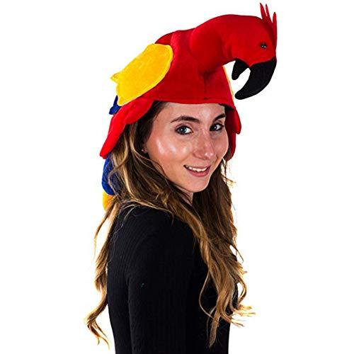 Vogel Kostüm Kopfbedeckung - Gychee Halloween Dekor Halloween Cosplay Kostüm,
