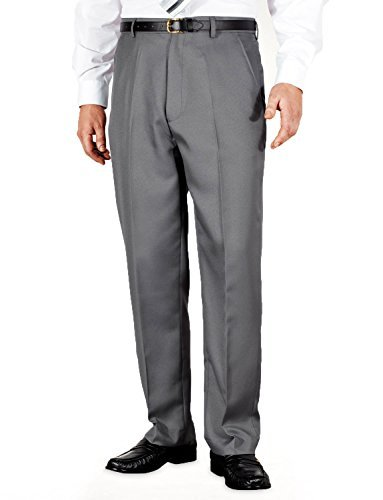 mens-quality-formal-smart-casual-work-trousers-home-office-grey-36w-x-29l