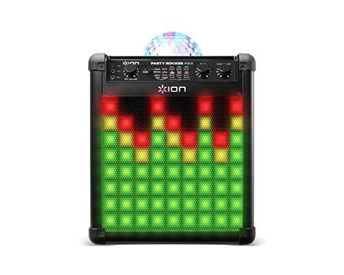 ion-audio-party-rocker-max-altavoz-recargable-con-cupula-de-luces-de-fiesta-y-rejilla