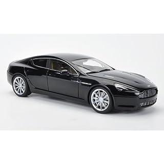 Aston Martin Rapide, met.-schwarz, LHD, 2010, Modellauto, Fertigmodell, AUTOart 1:18