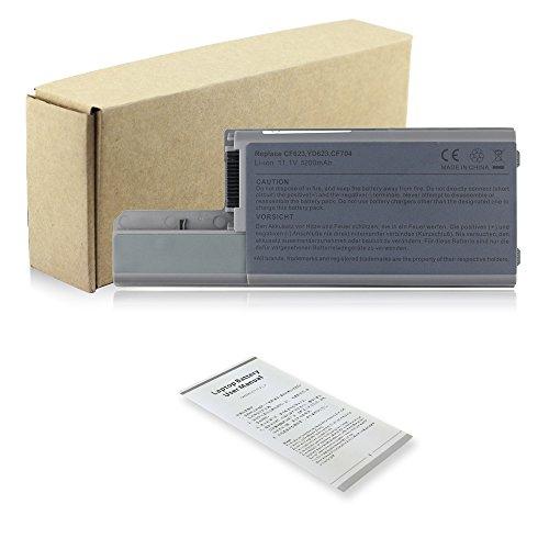 6 Cell 11.1v 5200mAh Notebook Laptop Akku für Dell Latitude D531 D531N D820 D830 Precision M4300 M65 Mobile Workstation CF623 CF704 CF711 DF192 Batterie Battery (Latitude Akku D830)