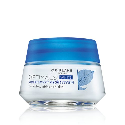 Oriflame Optimals White Oxygen Boost Night Cream - 50g  available at amazon for Rs.432