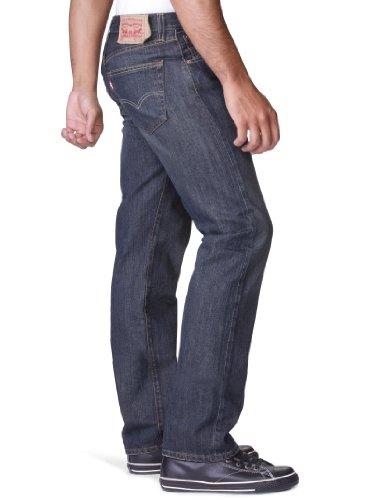 Levi's Herren Jeanshosen Original Straight Fit Blau (Dark Clean 0089)