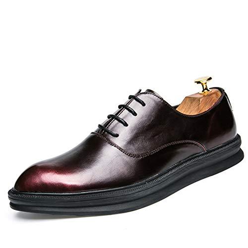 a9efd56479cb9 Yajie-shoes store, Men's Business Oxford Casual Fashion Classic Retro Color  Contrast Comode scarpe da cerimonia all'aperto 2018 Scarpe Da Uomo (Color  ...