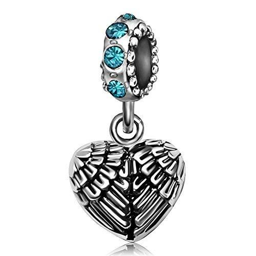 KunBead Jewelry Damen - Copper Platinum Kupfer (Authentisch Charms Pandora Baumeln)