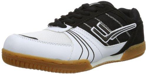 Killtec Soccero, Chaussures indoor mixte adulte Noir - Schwarz (schwarz/weiß 00200)