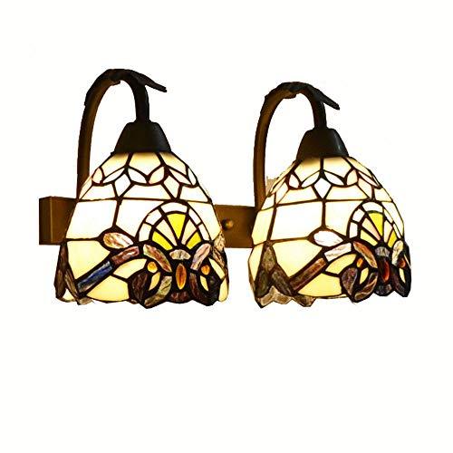 Tiffany Uplights / Downlight Vidrio Dormitorio Dormitorios