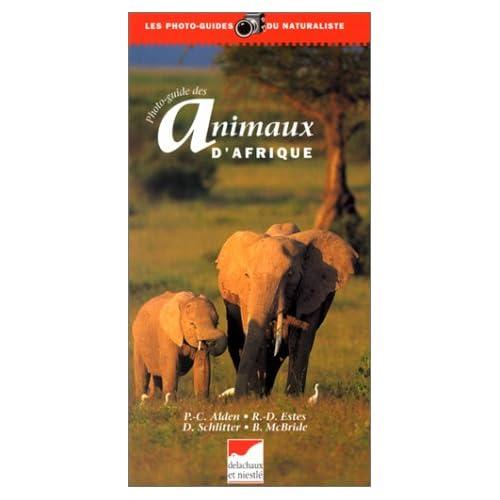 Photoguide des animaux d'Afrique