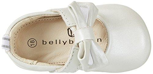 Silber Krabbelschuhe Babyschuhe bianco Baby Mädchen Bellybutton xw6I8q