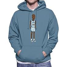 Cloud City 7 Shaquille O Neal Full Body Pixel Mens Hooded Sweatshirt