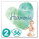 Pampers Harmonie Taille2 56Couches 4-8kg