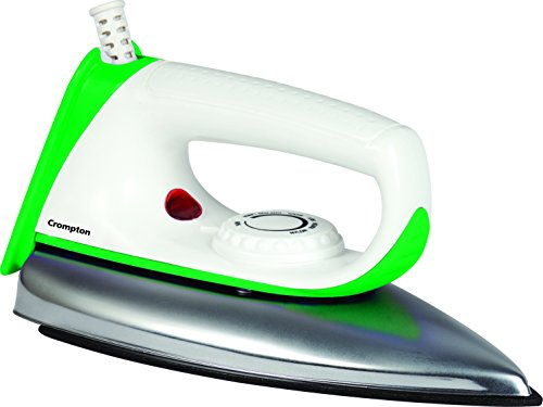 Crompton Greaves ED Plus 750-Watt Dry Iron (Colors May Vary)