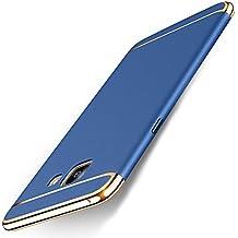 Funda Samsung Galaxy A5 (2017), MSVII® 3-in-1 Design PC Funda Case Cover + Protector de Pantalla Para Samsung Galaxy A5 (2017) - Azul JY50167