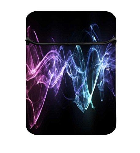 Snoogg Energiesparlampe Splash 25,4cm einfachen Zugang Gepolstertes Laptop Schutzhülle Flip...